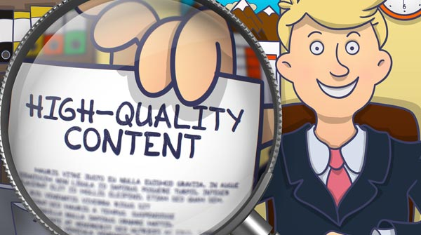 Deliver High Quality Content