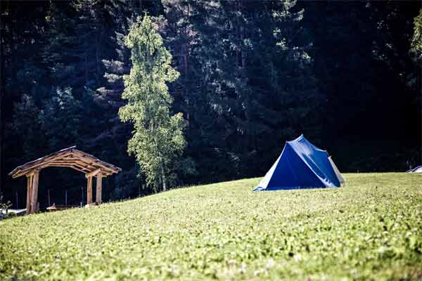 Steps to set up the Camping Tent