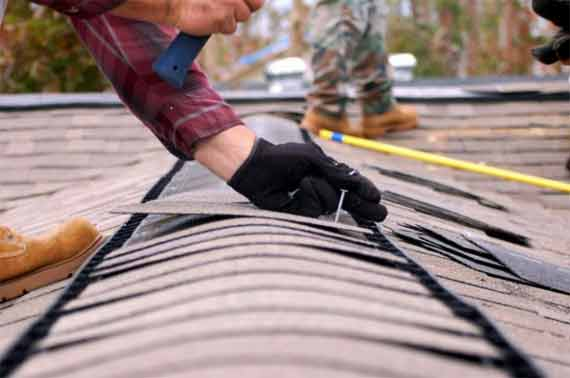 Causes of the winter roof repair