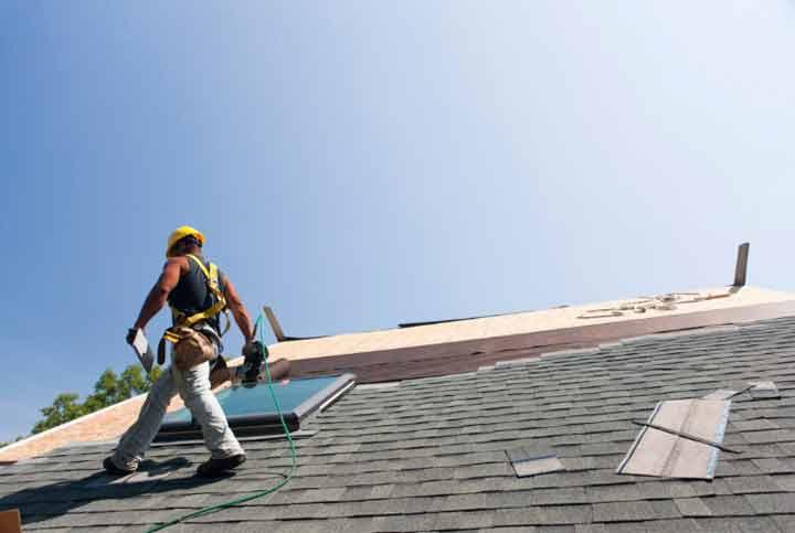 spring roof repair