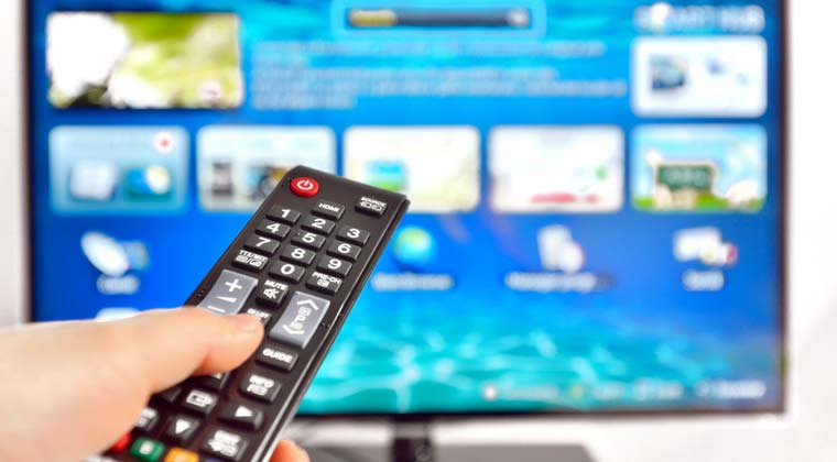 Is it easy to browse the internet on a smart TV