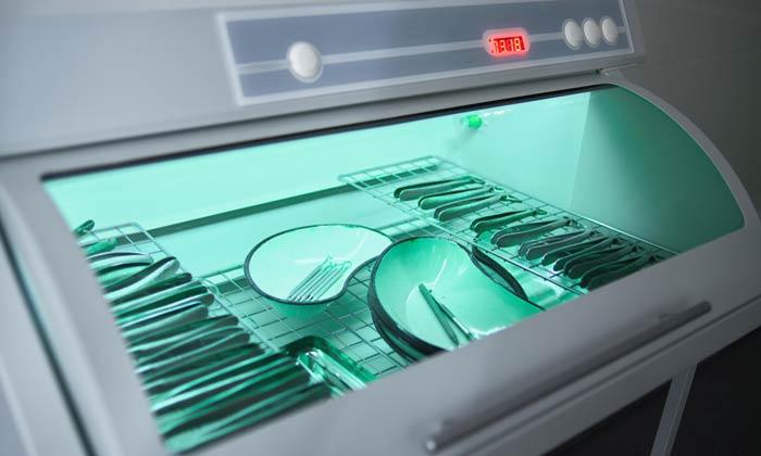 UV lights or sterilizer