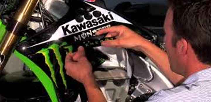 How To Install The Dirt Bike Graphics