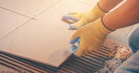Remove Rust from Floor Tiles