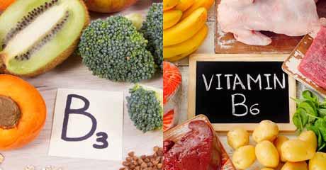 Vitamin B3 Vitamin B6
