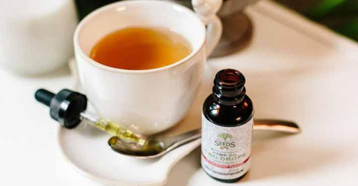 How Many Drops Of CBD Oil In Tea