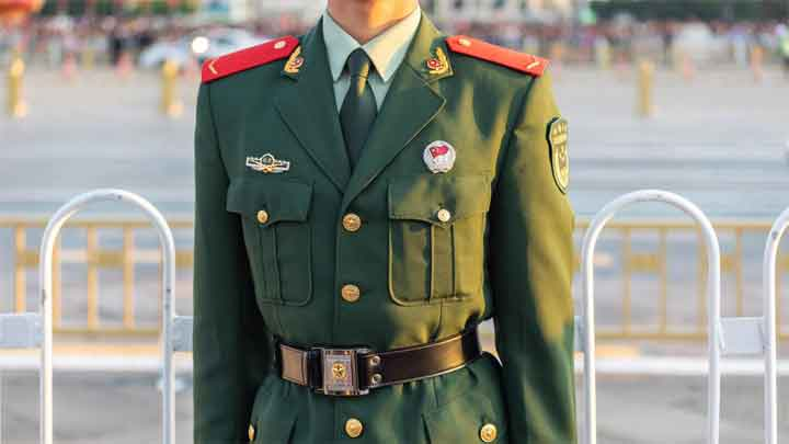 Animals on Chinese Military Rank Badges