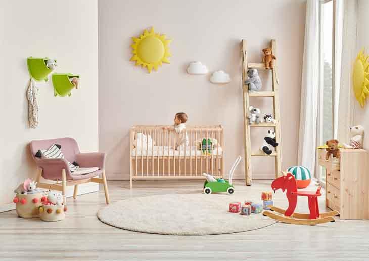 Cardboard Box Furniture for Kids