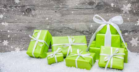 For Green Gifts This Holiday Season Shop Local