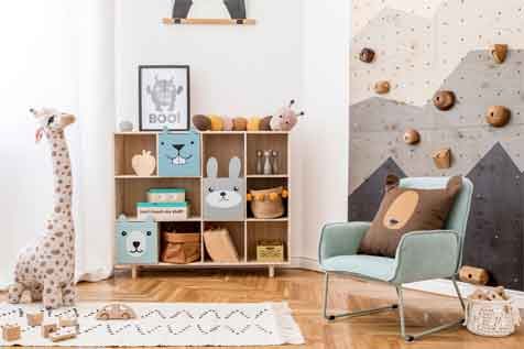 Playroom Chairs and More