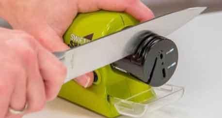 The Wüsthof Electric Knife Sharpener