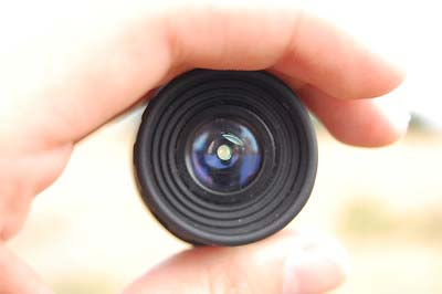 How does the monocular work