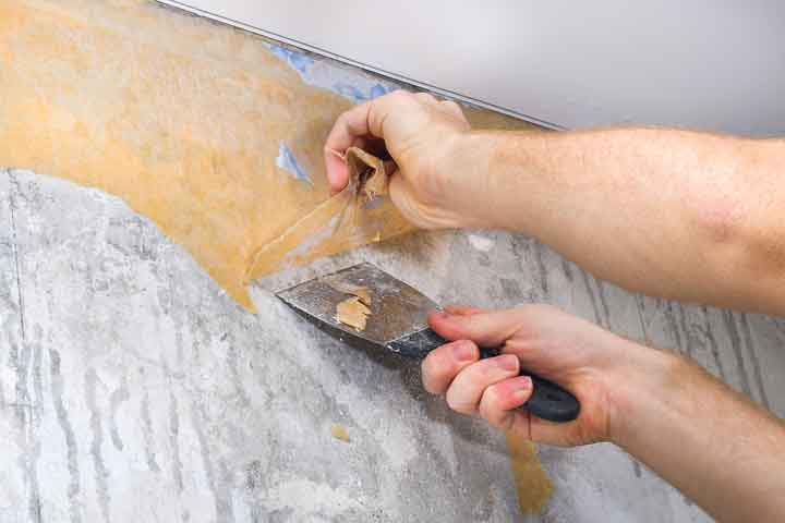 How to Remove Wallpaper From Plaster Wall