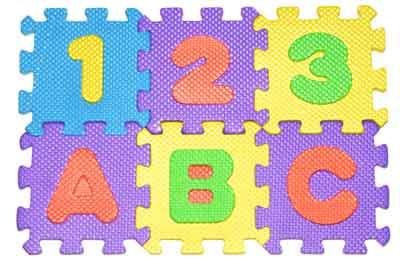 Teach the ABCs and 123s