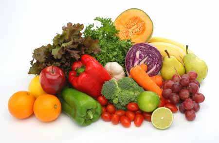 Eat more vegetables and fruits